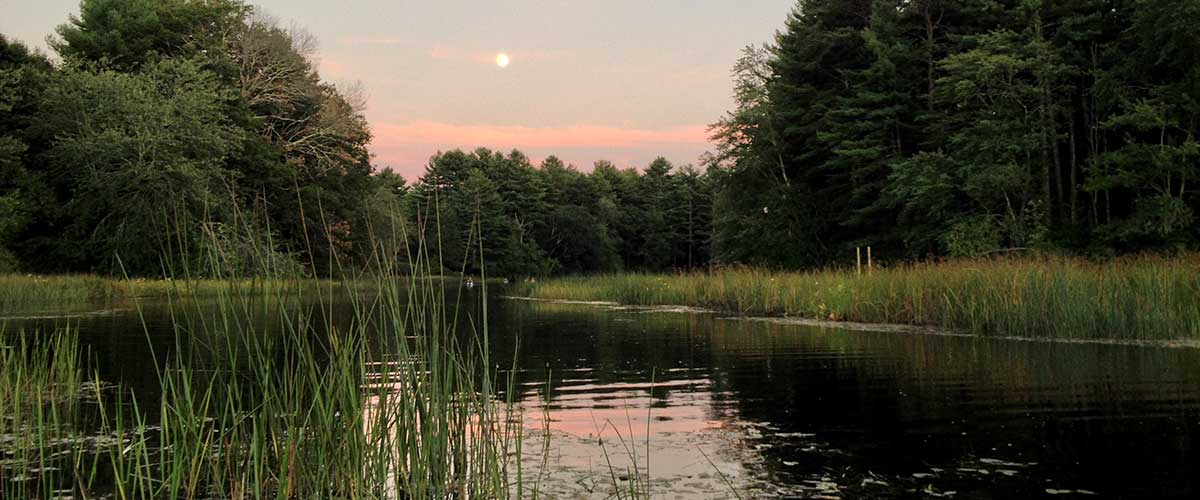Full Moon over the Wood River